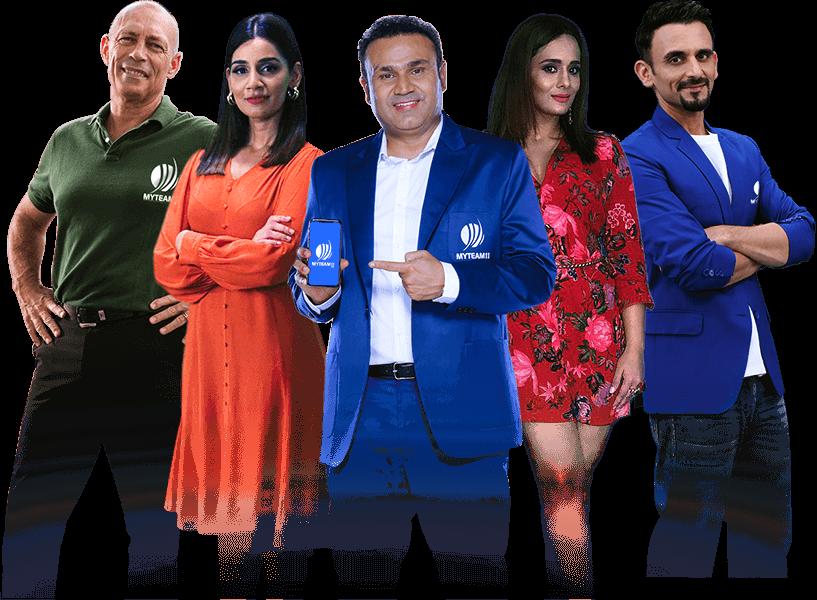 Myteam11 Brand Ambassadors